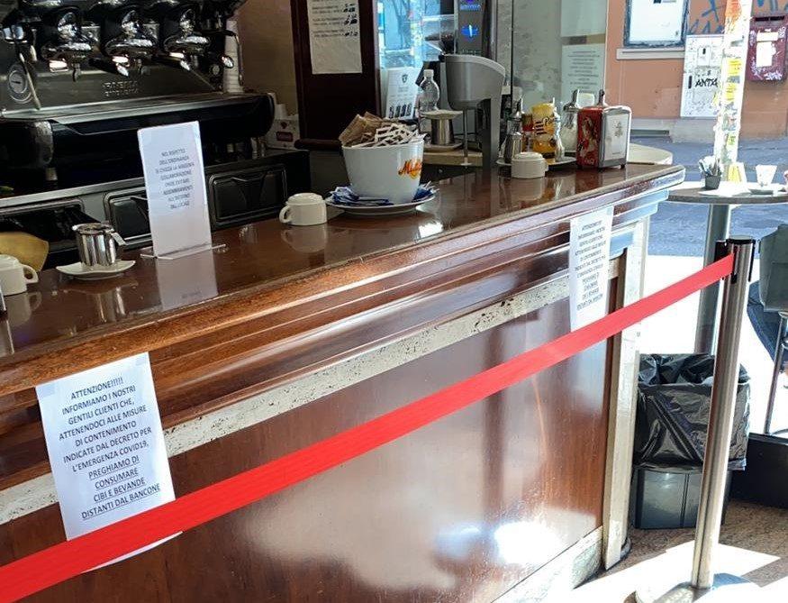 COVID-19: bar chiusi, burocrazia aperta