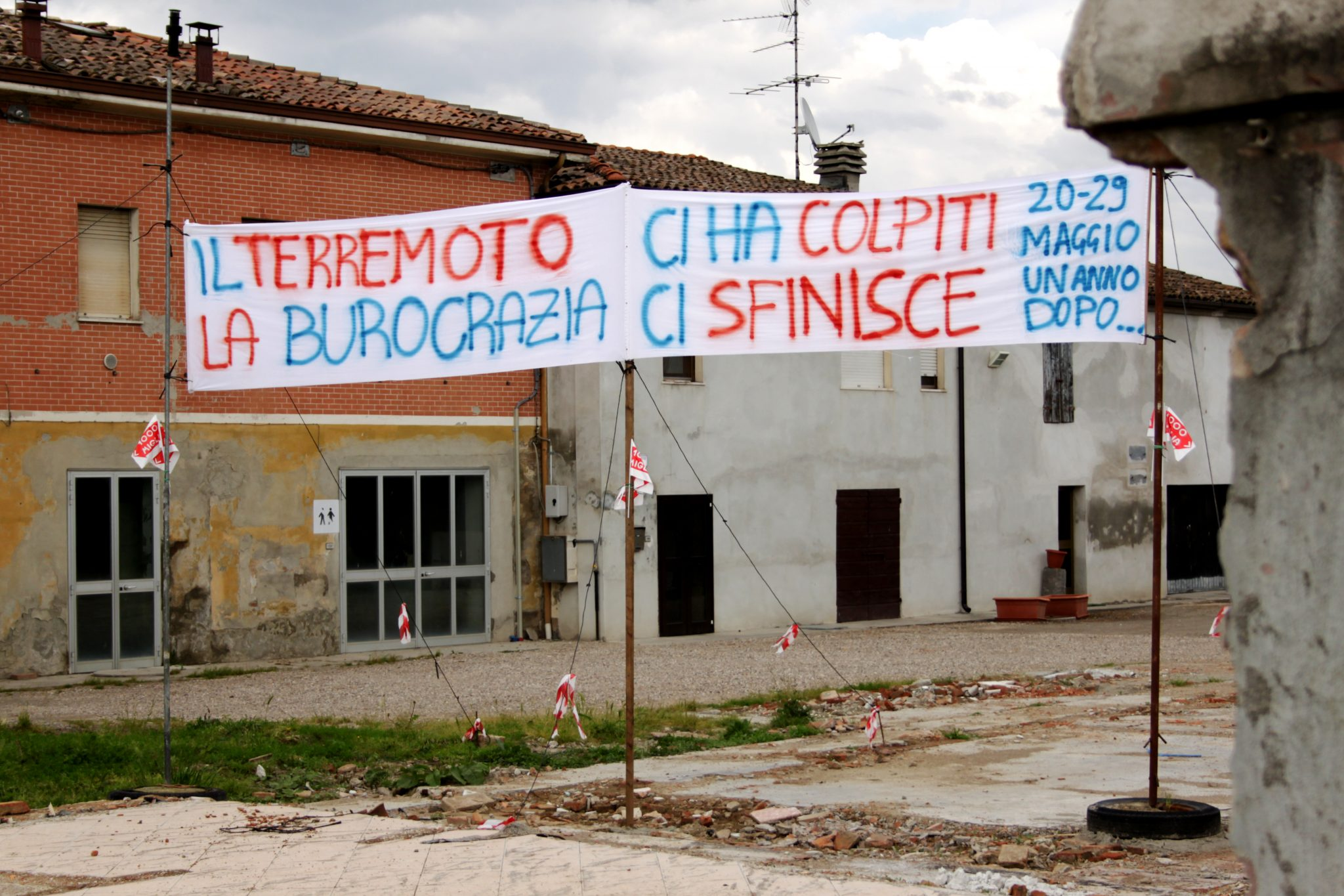 Ricostruzione Italia: non impariamo mai niente