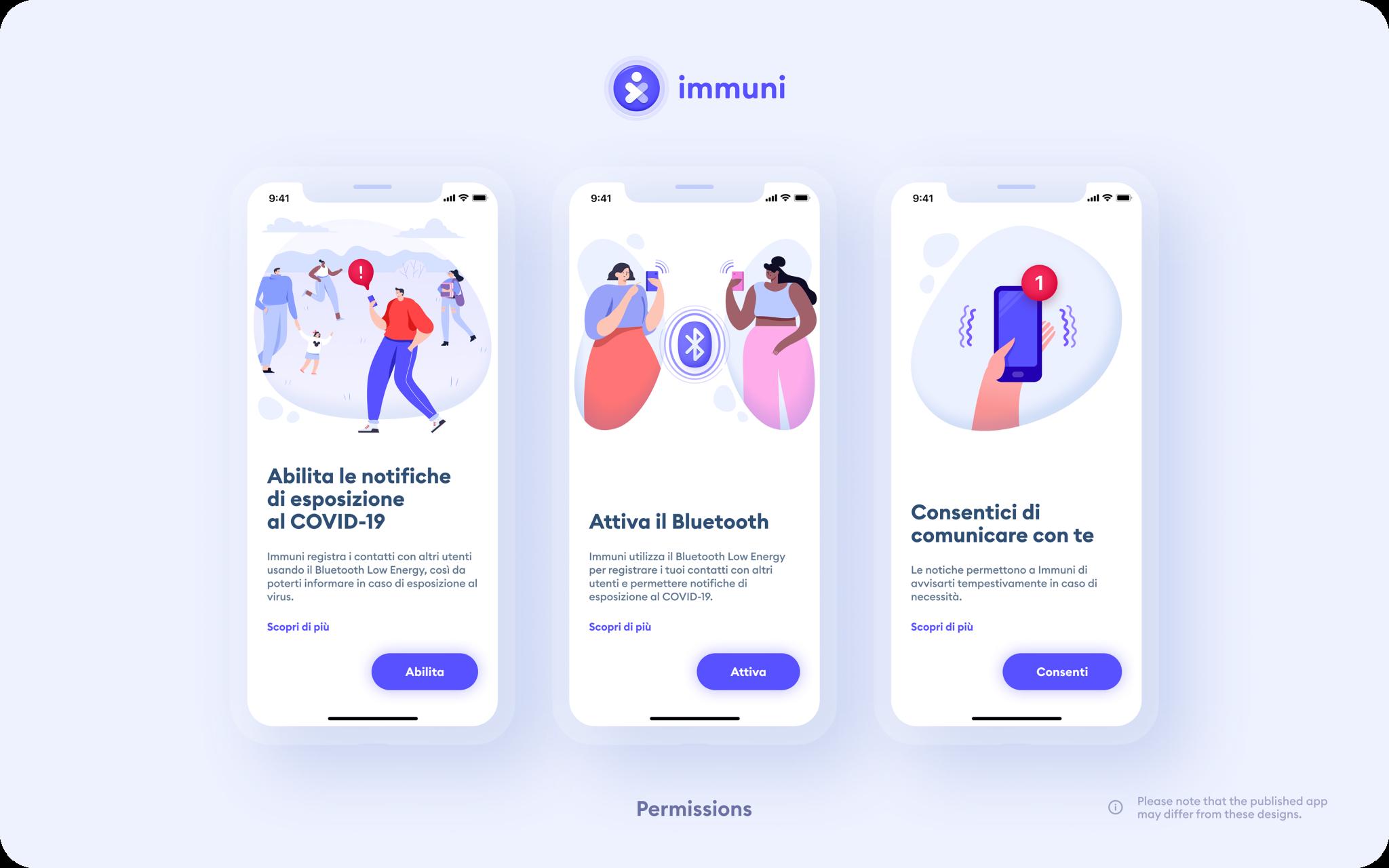 I permessi richiesti dall'app Immuni, che aiuterà a tracciare l'infezione da COVID, al centro di numerosi dubbi riguardo alla privacy degli utenti.