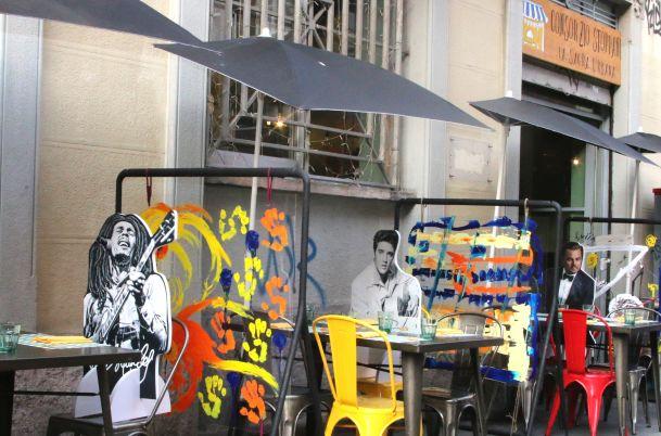 I divisori artistici e i cartonati vip utilizzati da Consorzio Stoppani a Milano