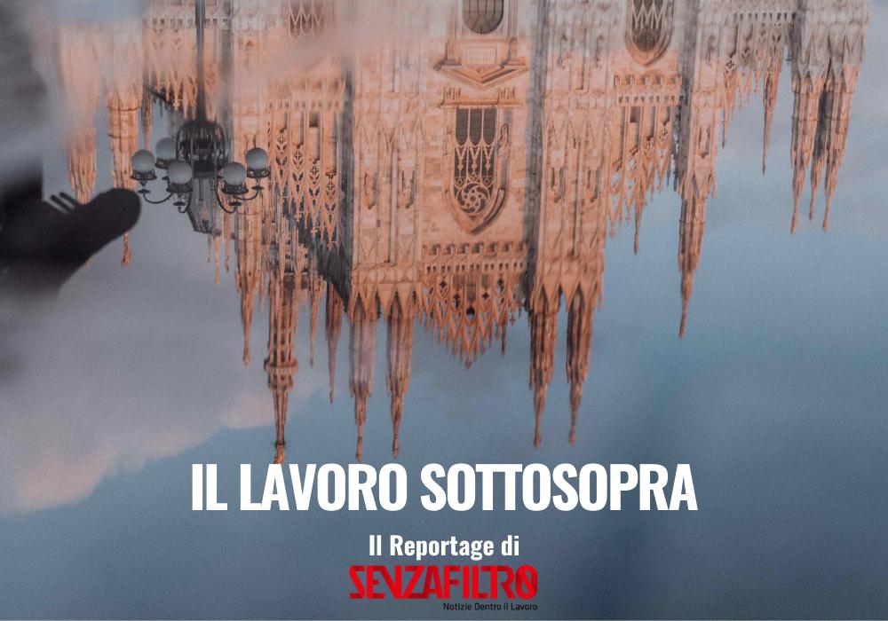 Il lavoro sottosopra: il duomo di Milano rovesciato