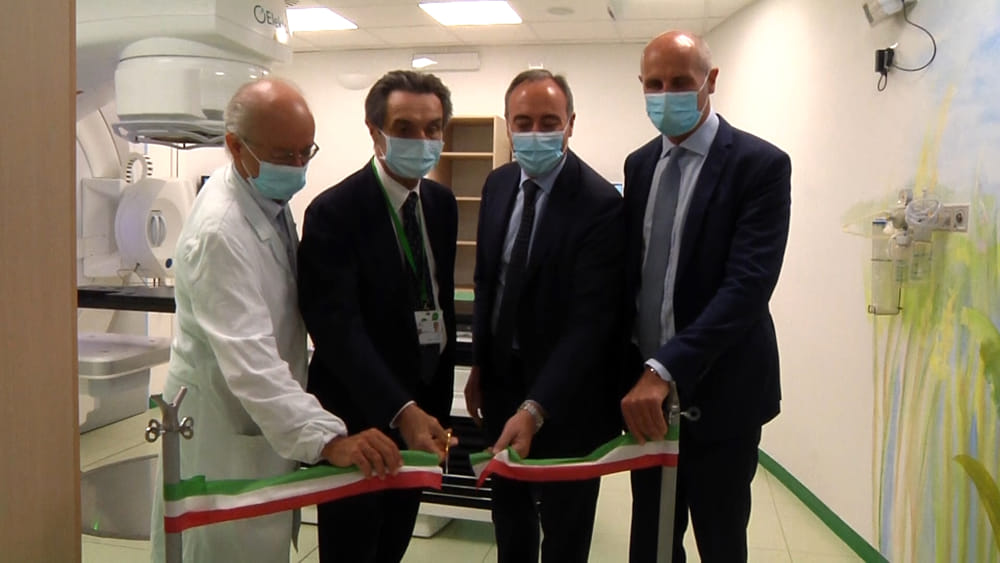 Servizio sanitario regionale lombardo, Fontana e Gallera inaugurano il nuovo reparto radiologia del Niguarda