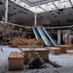 Retail apocalypse: un centro commerciale abbandonato dopo la chiusura