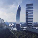 Come sarà Milano nel 2046? Uno scorcio dei grattacieli di CityLife.