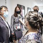 Cultura del lavoro e dell'informazione a confronto a Nobìlita 2020: giornalisti della redazione di SenzaFiltro che parlano tra di loro