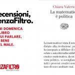"""La copertina di """"La matematica è politica"""" di Chiara Valerio."""