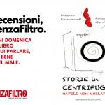 """La copertina di """"Storie in centrifuga"""", di Lorenzo Rossomandi e Rossana Germani"""