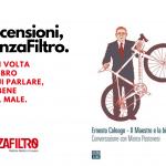 """La copertina di """"Ernesto Colnago - Il maestro e la bicicletta"""", di Marco Pastonesi."""