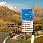 Una frontiera italiana.