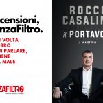 """La copertina de """"Il portavoce"""", di Rocco Casalino"""