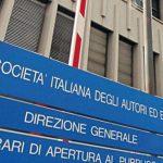 La sede della Siae, la società che gestisce i diritti di buona parte dei musicisti italiani.