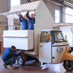Un food truck realizzato dall'azienda StreetFoody