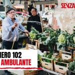 """Venditori ambulanti in copertina del mensile 102 di SenzaFiltro: """"L'Italia ambulante"""""""