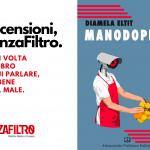 "La copertina di ""Manodopera"", libro di Diamela Eltit."