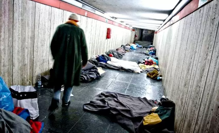 Senzatetto e senza politiche di sostegno: almeno in 300.000 perderanno casa