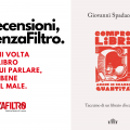 """La copertina di """"Compro libri, anche in grande quantità"""" di Giovanni Spadaccini."""