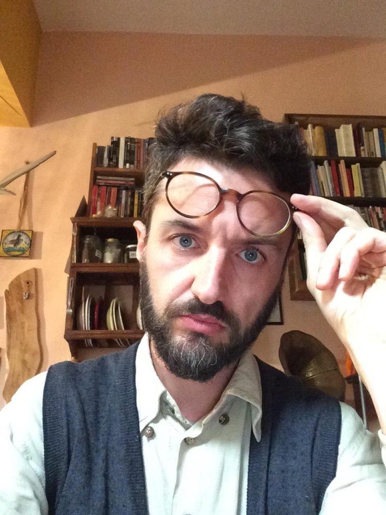 """Carlo Cuppini, redattore editoriale e promotore della petizione """"Green pass: le ragioni del no""""."""
