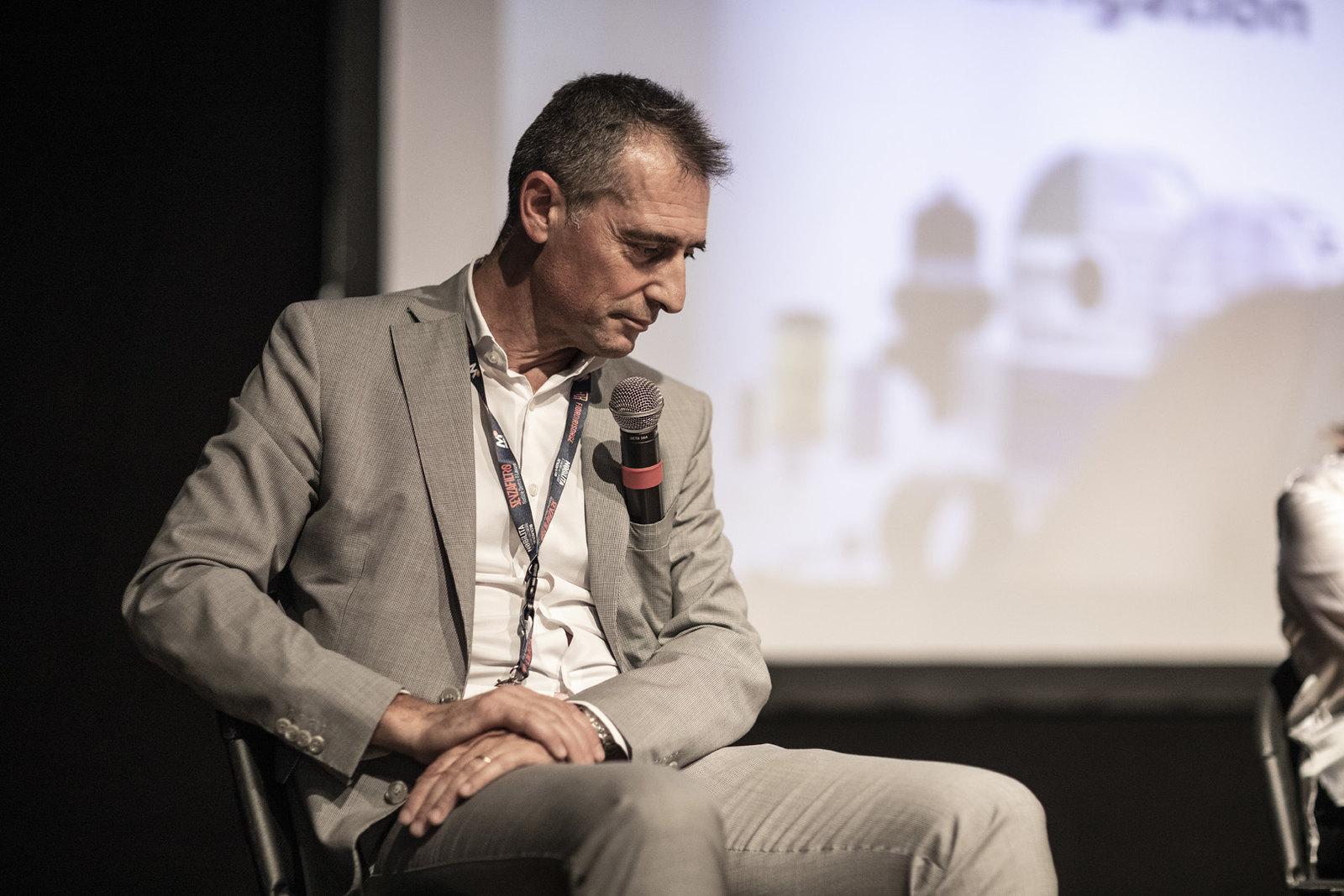 Danilo Dadda sul palco di Nobìlita 2021.
