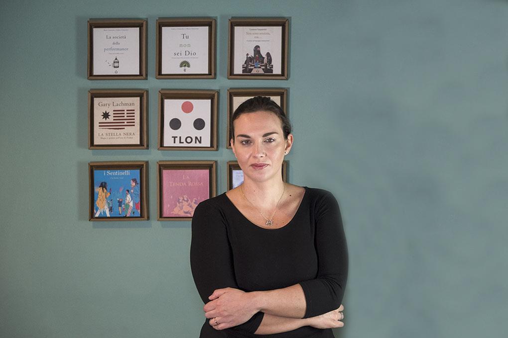 """Maura Gancitano, Tlon: """"Con la fruizione digitale della cultura c'è il rischio all you can eat""""."""